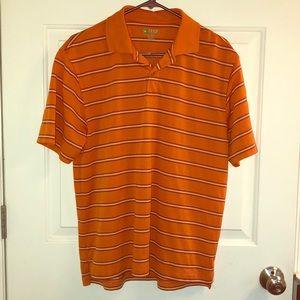 Izod Medium X-Treme Function Orange golf shirt